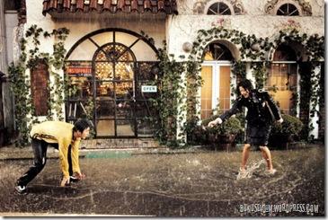 şemsiye aşkına