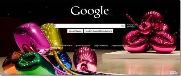 google hoş geldin