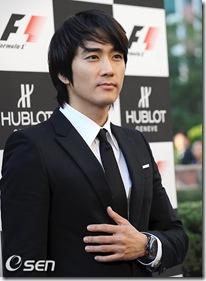 Song Seung-heon hublot formula1