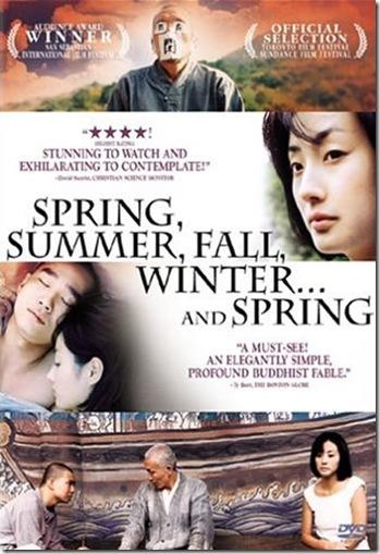 ilkbahar, yaz, sonbahar, kış... ve ilkbahar