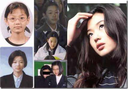 jeon ji-hyun çocukluk