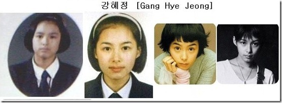 kang hye-jung çocukluk