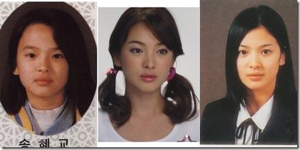 song hye-kyo çocukluk2