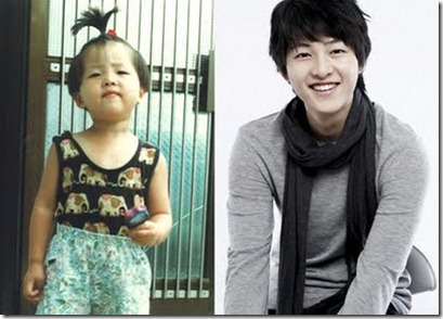 Song Joong-Ki çocukluk