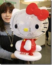 Hello Kitty vantilatör